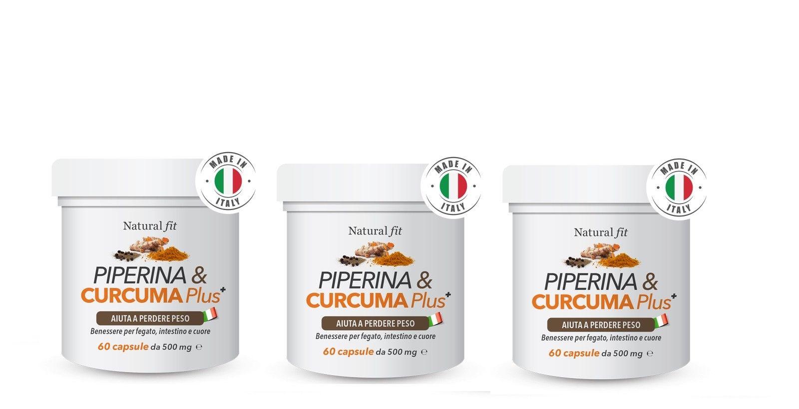 Piperina Curcuma Plus Come Funziona Recensioni Opinioni Dosi Consigliate E Prezzo